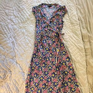 J. Crew Wrap Dress for Spring/Summer